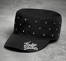 Rivet Accent Flat Top Cap