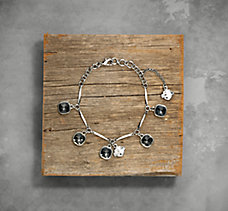 Smoke Rhinestone Bracelet