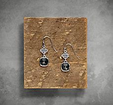 Smoke Rhinestone Earrings