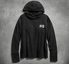 Fleece Hooded Sleep Pullover