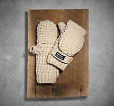 Fingerless Knit Gloves