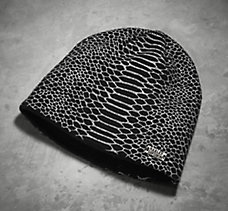 Python Pattern Knit Hat
