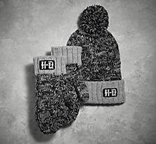 Knit Hat & Mittens Set