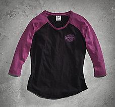 Colorblock Raglan Sleep Shirt