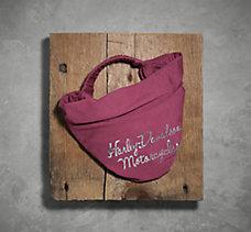 Metallic Print Knit Headwrap