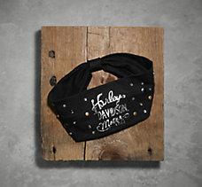 Stud & Rhinestone Knit Headband