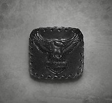 Matte Leather Eagle  Buckle
