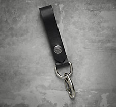 Snap Leather Fob