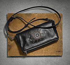 Embellished Crossbody Handbag