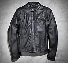 Spoiler Leather Jacket