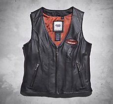 Classica Leather Vest