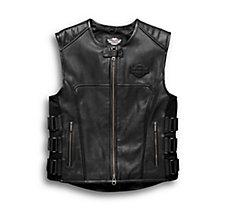 Swat II Leather Vest