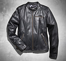 Bling Harley Leather Jacket
