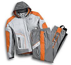 Midpoint Colorblock Rain Suit