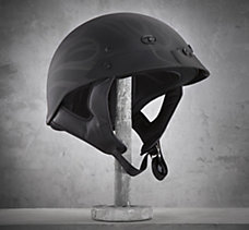 Flame Spoiler 1/2 Helmet