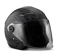 Splendor Sun Shield 3/4 Helmet