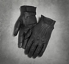 #1 Skull Perforated Gloves