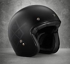 HDMC Retro 3/4 Helmet