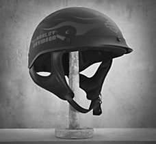 Ghost Flames Hybrid 1/2 Helmet
