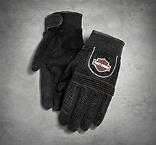 Mesh Full-Finger Gloves