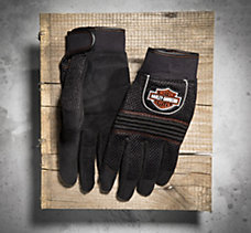 Mesh Full-Finger Gloves