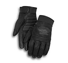 Winged Skull Gloves