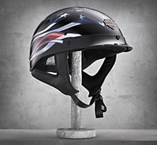 Hybrid Old Glory 1/2 Helmet
