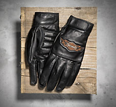 Ride Ready Full-Finger Leather G...