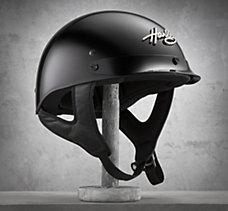 Hybrid Bling Harley 1/2 Helmet