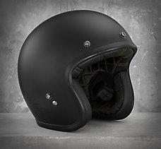 Matte Retro 3/4 Helmet