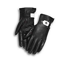 Compass Leather Gloves