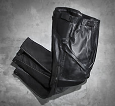 FXRG Leather & Textile Overpant