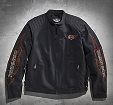 Flames Nylon Jacket