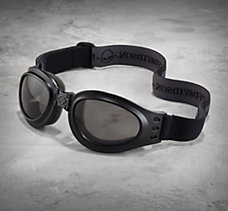 Collapsible Goggles with Skull