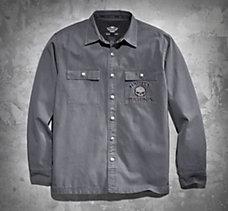 Skull Shirt Jacket
