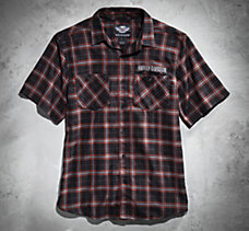 Custom H-D Plaid Shirt