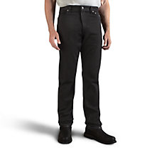 Traditional Fit Jeans - Black De...