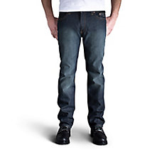 Slim Straight Jeans - Dark Indig...