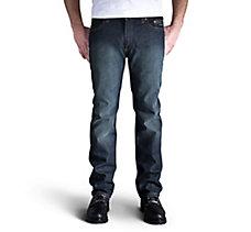 Slim Straight Jeans - Dark Indig...