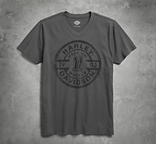 Hell on Wheels V-Neck Slim Fit T...