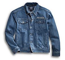 Bar & Shield Denim Jacket