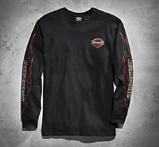Flames Long-Sleeve Tee