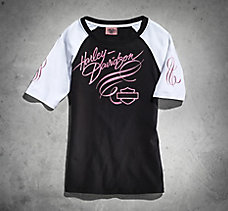 Pink Label Short Sleeve Raglan S...
