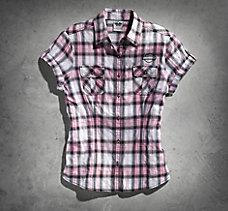 Pink Label Plaid Shirt