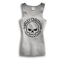 Skull Scoop Neck Tank