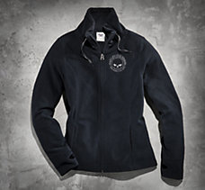 Skull Fleece Jacket