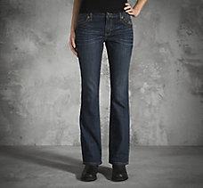 Boot Cut Contour Mid-Rise Jeans