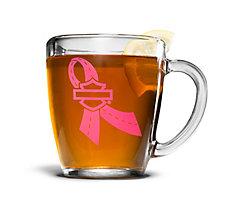 14 oz. Pink Label Glass Mug