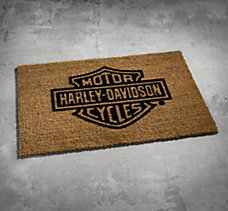Bar & Shield Door Mat