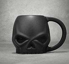 Matte Skull Ceramic Mug